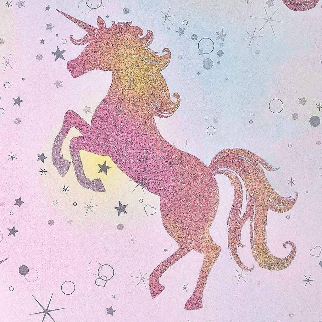 CharactersMania Magical Unicorn Wallpaper
