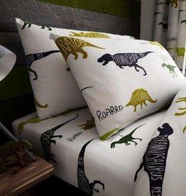 Dinosaurus Hoeslaken Kussensloop Set
