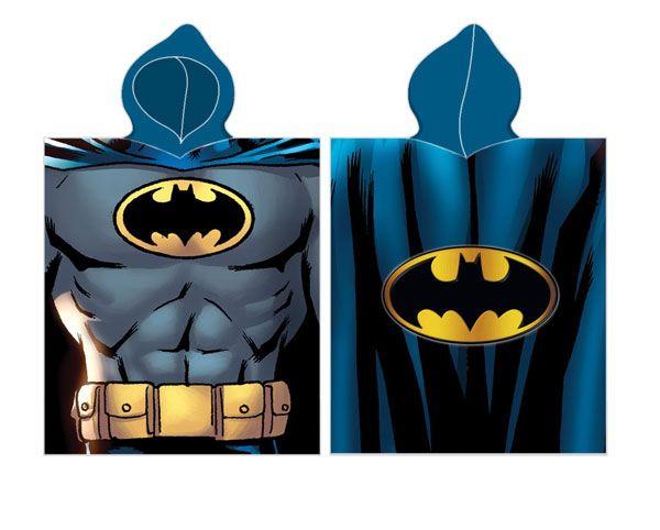 Batman Poncho 50x115 Katoen