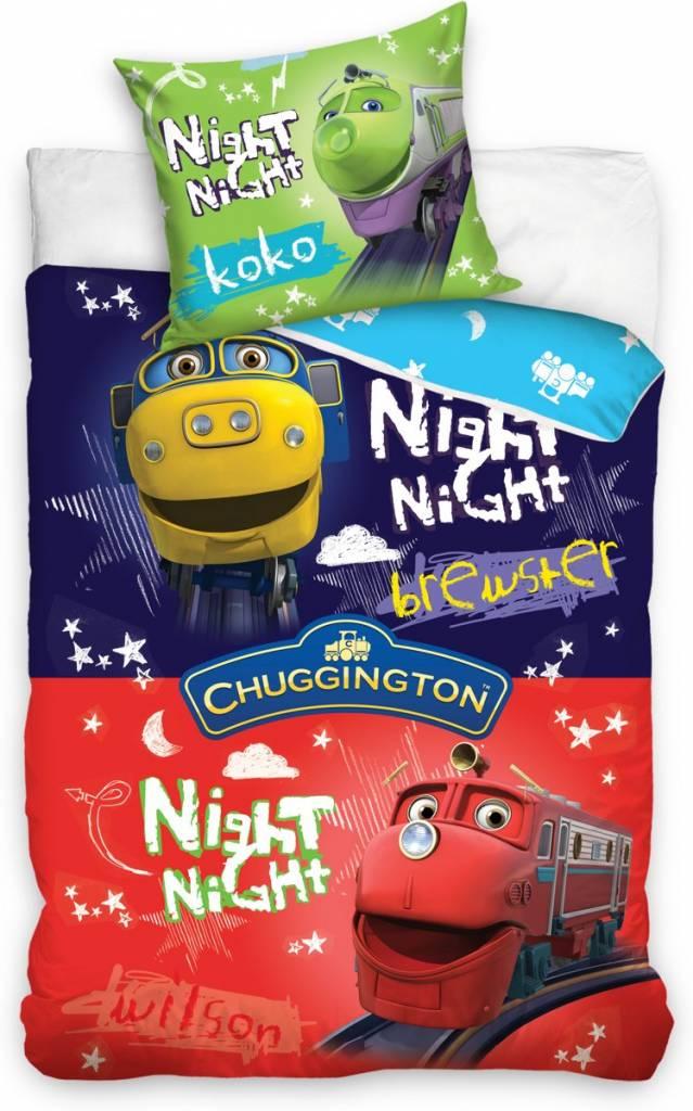 Chuggington Bedding 140x200 70x90 Cotton