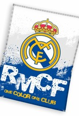 Real Madrid Fleece Plaid 130x160