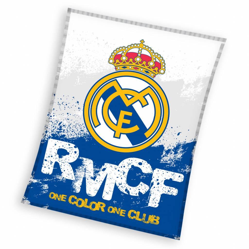 Real Madrid Fleece Plaid 130x160