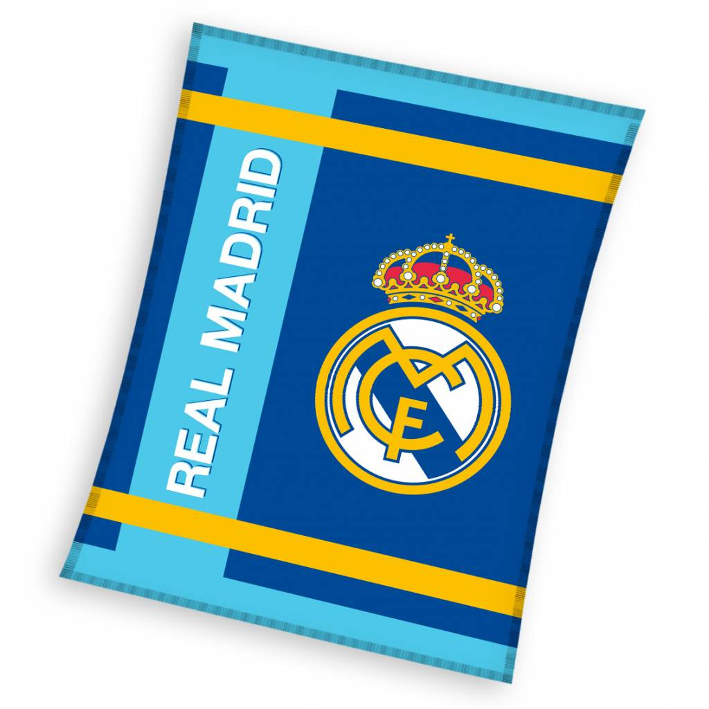 Real Madrid Real Madrid Fleece Plaid Blanket