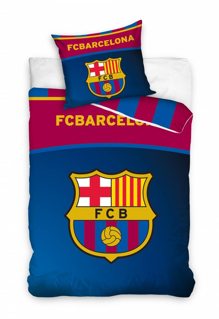 FC Barcelona FC Barcelona Dekbedovertrek Strepen
