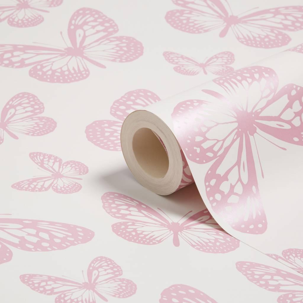 Vlinder Behang 52.5cm 10m Lang
