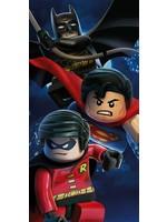 DC Comics Lego DC Superheroes Battle Cotton Beach Bath Towel Batman Superman Robin