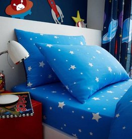 CharactersMania Stars Fitted Sheet Outerspace