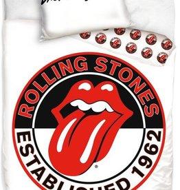 The Rolling Stones Dekbedovertrek Rolling Stones Wit