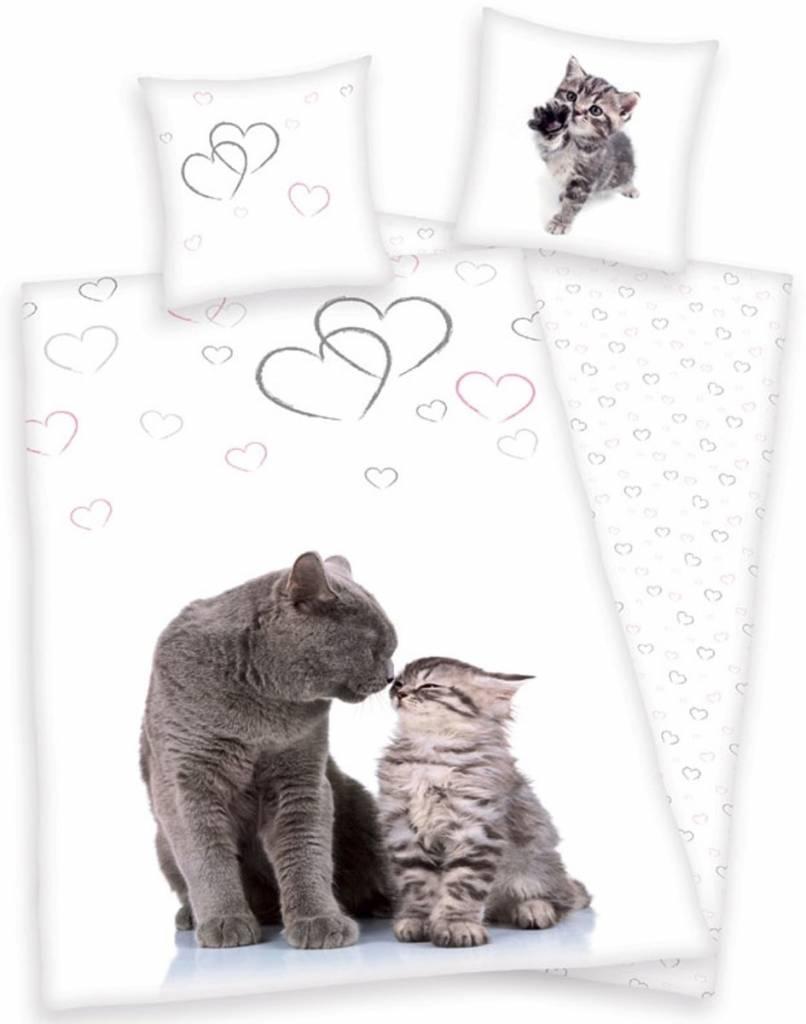 Katten Dekbedovertrek Poes