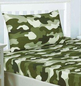 CharactersMania Camouflage Fitted Sheet