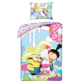 Minions Despicable Me Dekbedovertrek Fluffy Unicorn