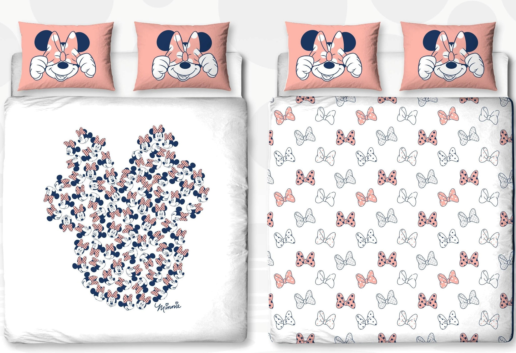 Minnie Mouse Dekbedovertrek 240x200cm