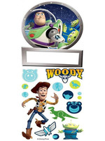 Disney Pixar Toy Story DeurNaam Stickers