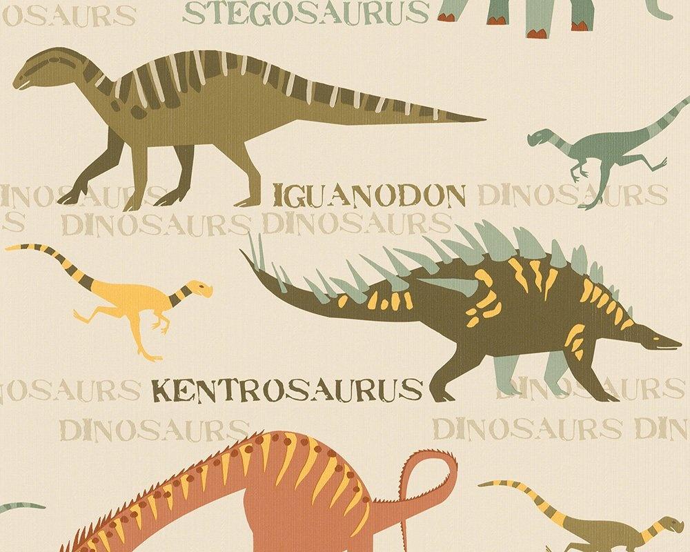 CharactersMania Dinosaurus Behang  Natural