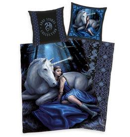 Herding Anne Stokes Dekbedovertrek Unicorn