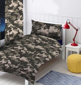 Topstyle Camouflage Duvet Cover Black