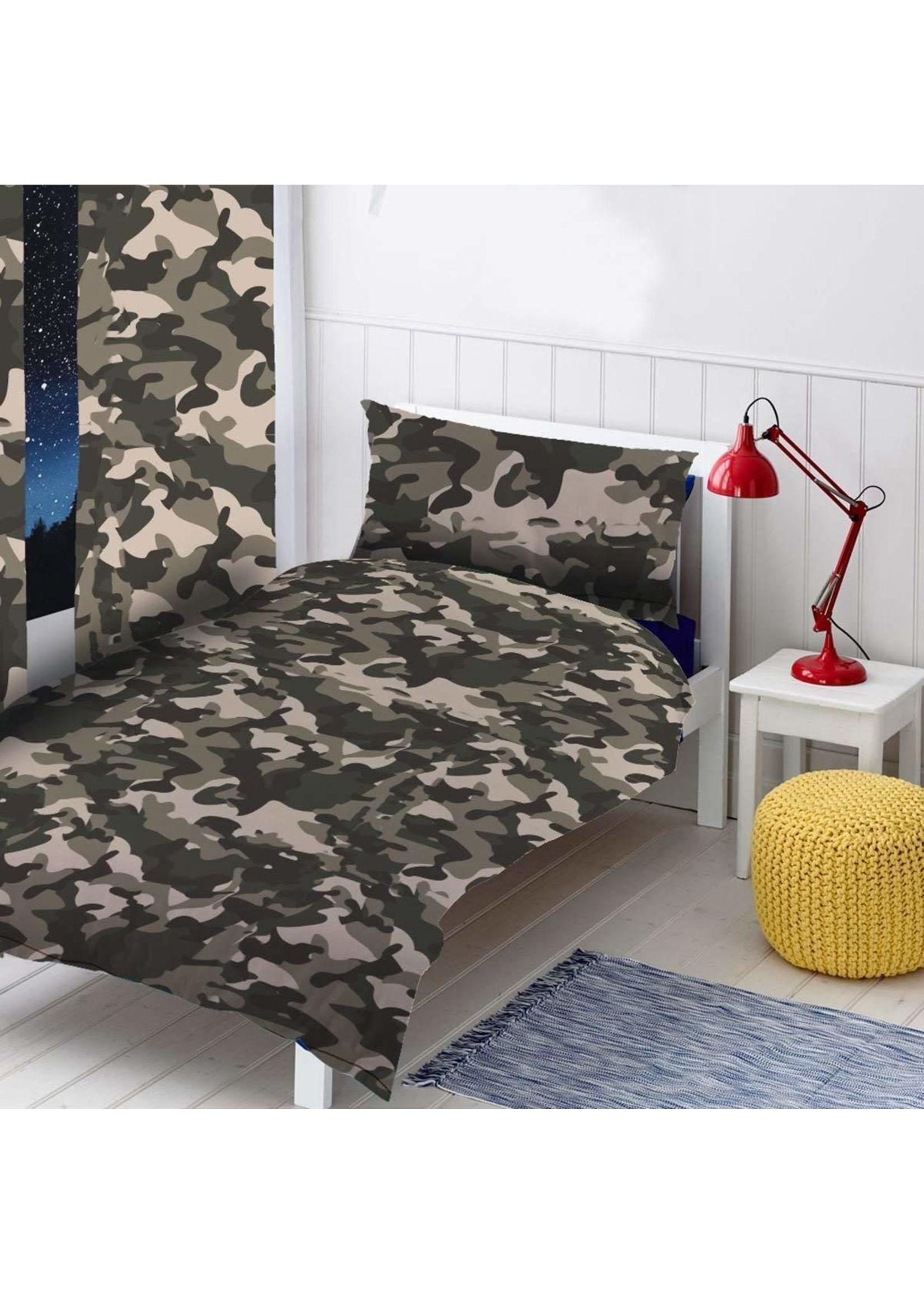 Topstyle Camouflage Gordijn