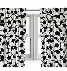 CharactersMania Football Curtains
