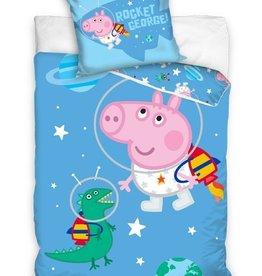 Peppa Pig Junior Dekbedovertrek  George Astronaut