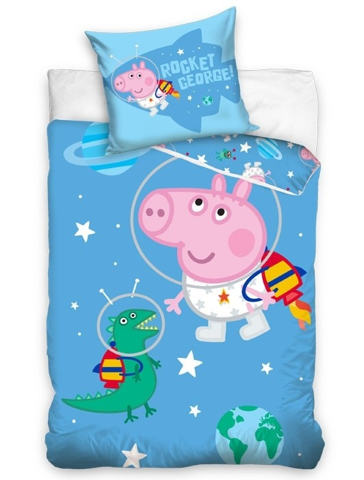 Peppa Pig Peppa Pig Junior Dekbedovertrek  George Astronaut