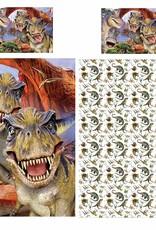Dinosaur T Rex Duvet Cover Set Selfie