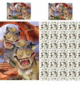 Dinosaurus T-Rex Dekbedovertrek 135x200