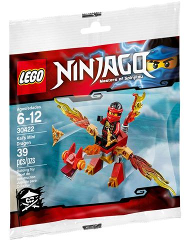 Lego LEGO Ninjago Kai's Mini Draak 30422