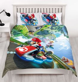 Nintendo UITVERKOCHT Super Mario Kart Tweepersoons Dekbedovertrek Gravity