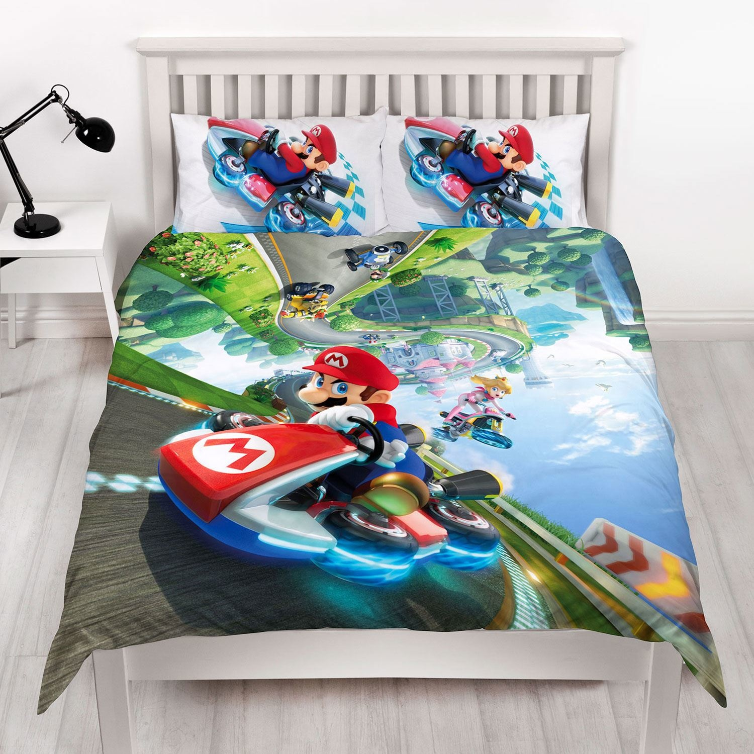Nintendo Super Mario Kart Double Duvet Cover Gravity