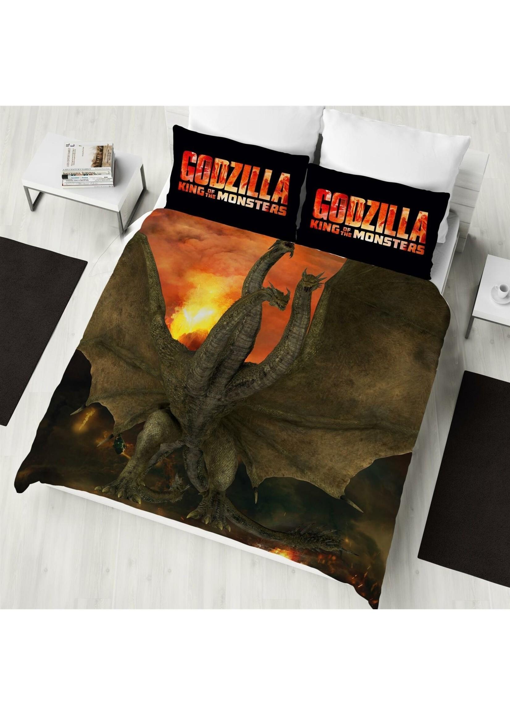 Godzilla Tweepersoons Dekbedovertrek