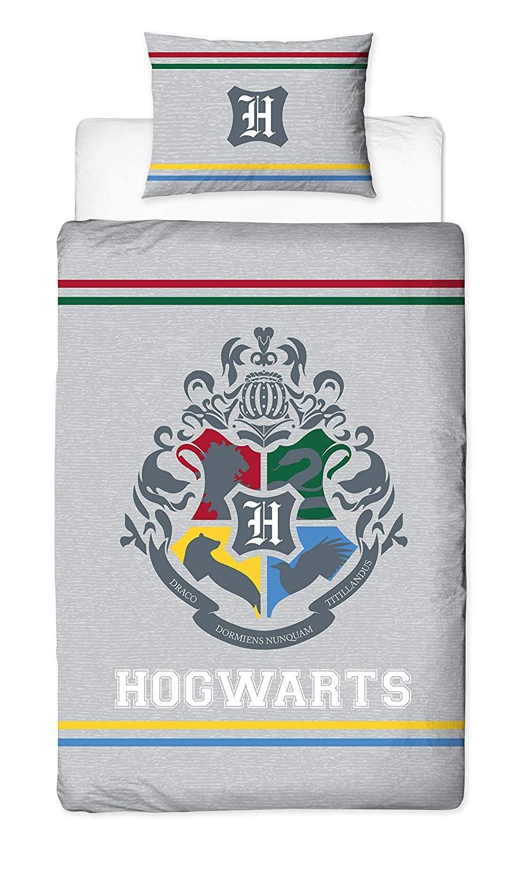 Warner Bros Harry Potter Alumni Duvet Set Hogward