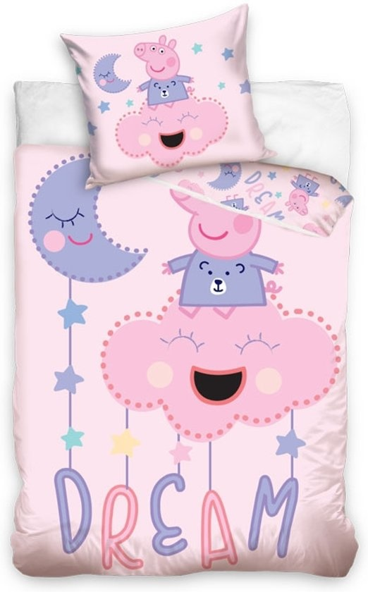 Peppa Pig Peppa Pig Junior Dekbedovertrek Dream