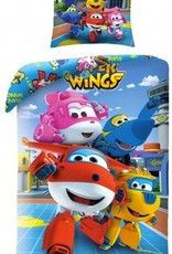 Super Wings Super Wings Dekbedovertrek Friends