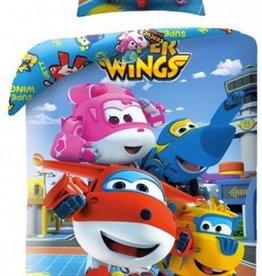 Super Wings Dekbedovertrek Friends