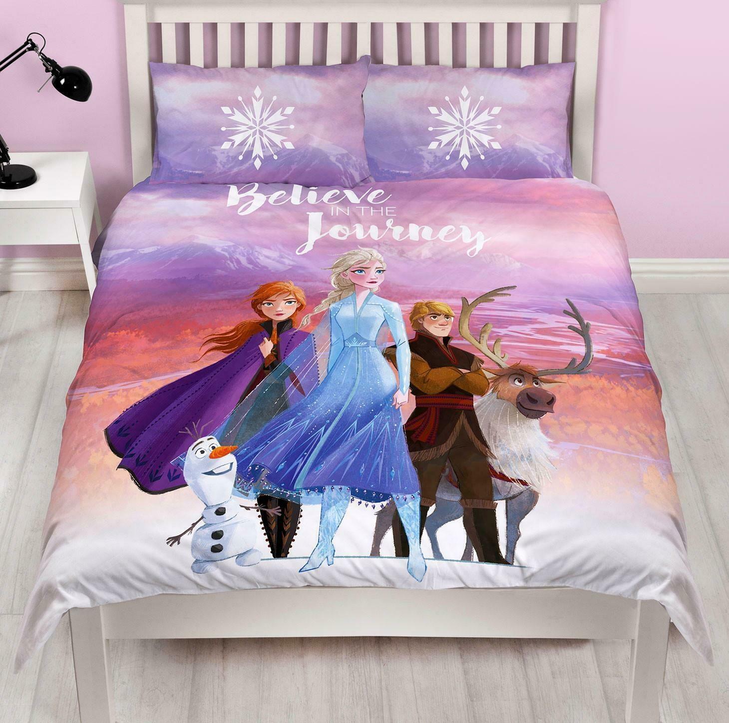 Disney Frozen Frozen 2 Tweepersoons Dekbedovertrek Journey