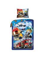 Lego Lego City Dekbedovertrek Brandweer