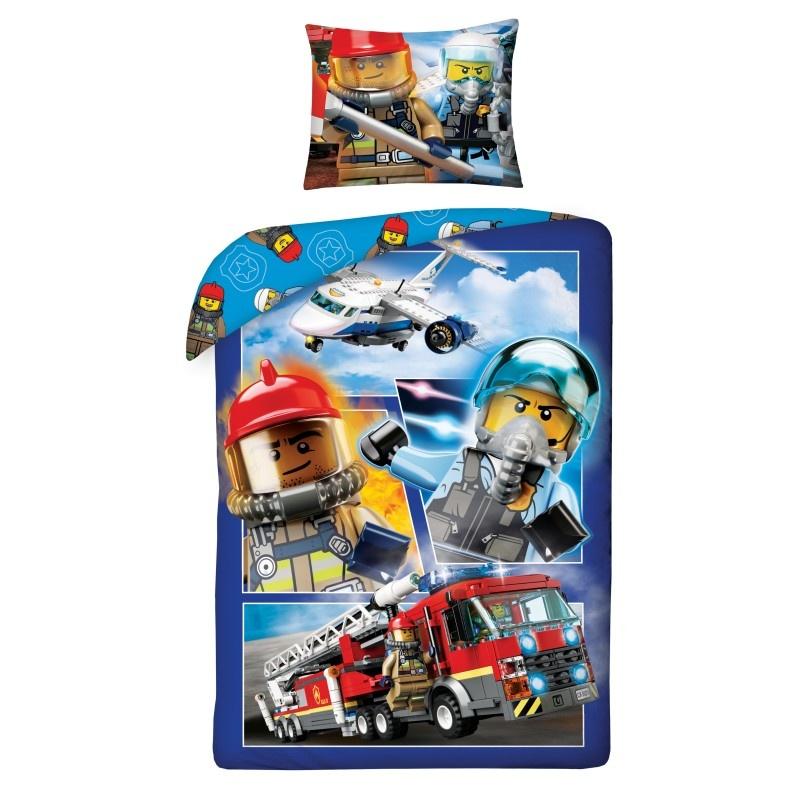 Lego Lego City Duvet Set Cover Firefighter