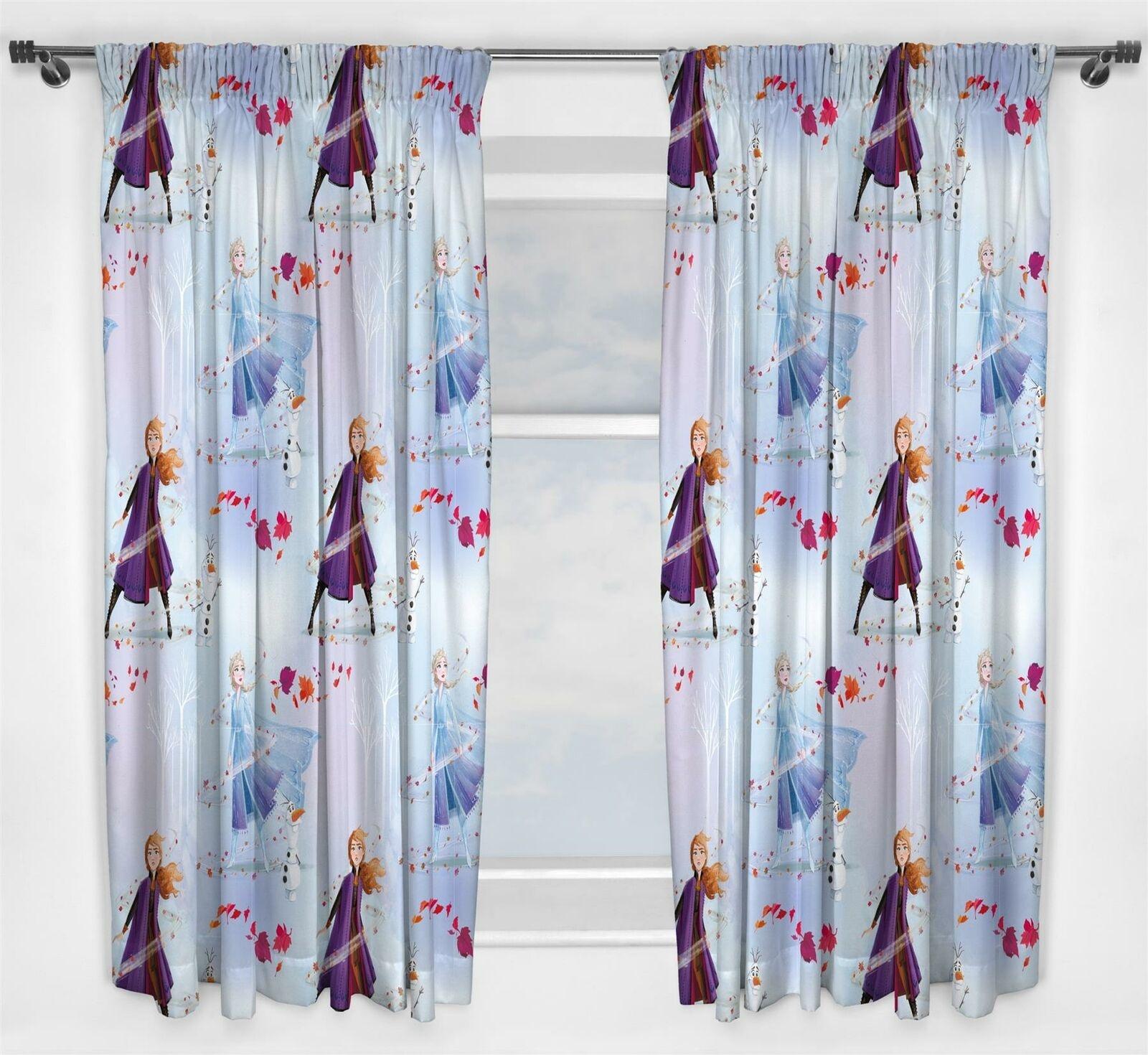 Disney Frozen Frozen 2 Curtains Element