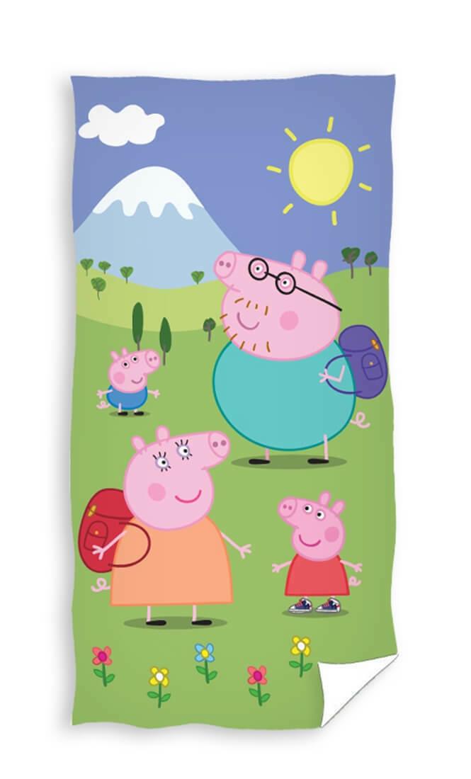 Peppa Pig Peppa Pig Badlaken Family Holiday