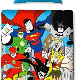 DC Comics DC Comics Junior Dekbedovertrek Superheroes