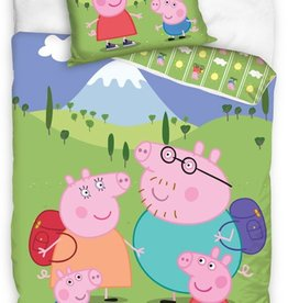 Peppa Pig Dekbedovertrek Family Holiday
