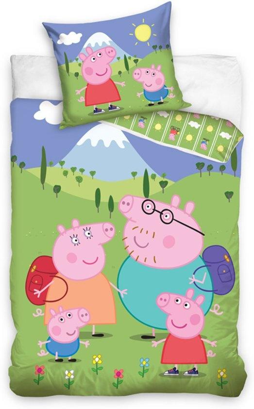 Peppa Pig Peppa Pig Dekbedovertrek Family Holiday