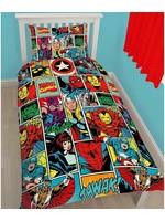 Marvel Marvel Duvet Cover Comics Strike