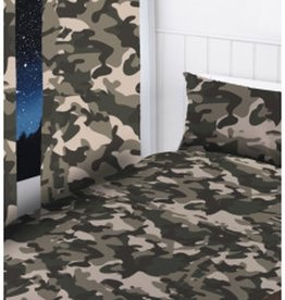 Topstyle Camouflage Curtain Set Black