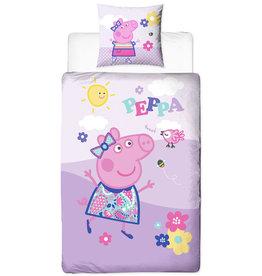 Peppa Pig Dekbedovertrek Sunny Day