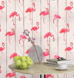 Barbara Becker Flamingo Behang