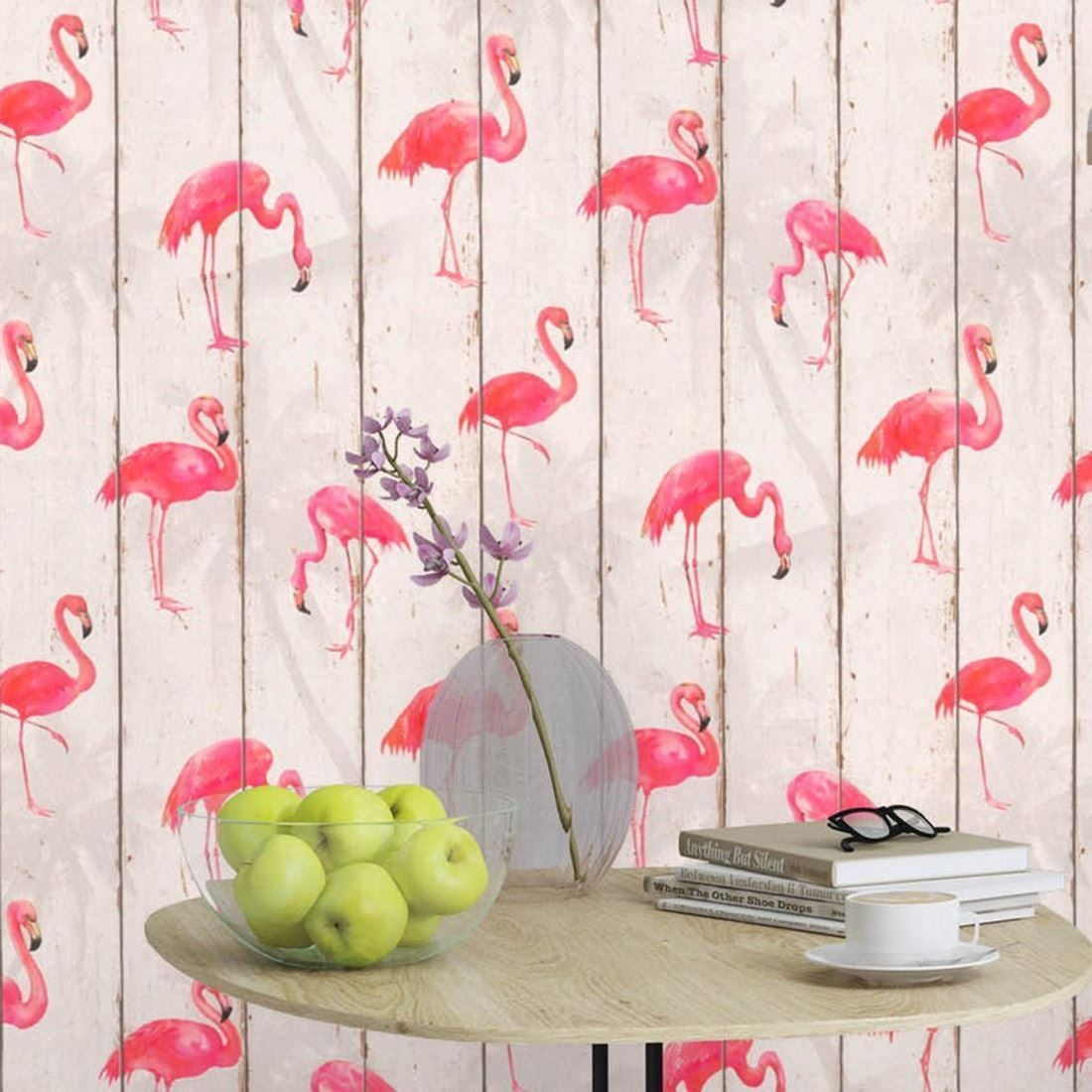 Rasch Barbara Becker Flamingo Wallpaper