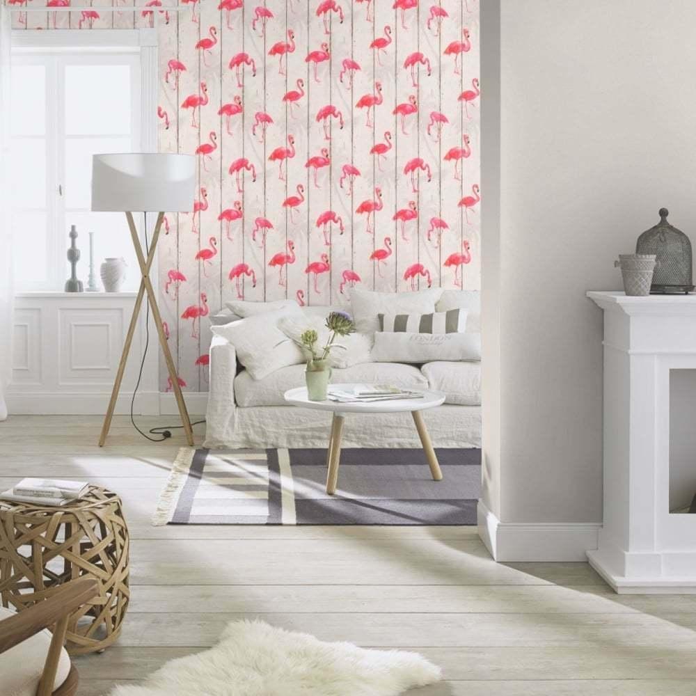 Rasch Barbara Becker Flamingo Behang