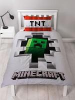 Minecraft Minecraft Dekbedovertrek Dynamite Cotton