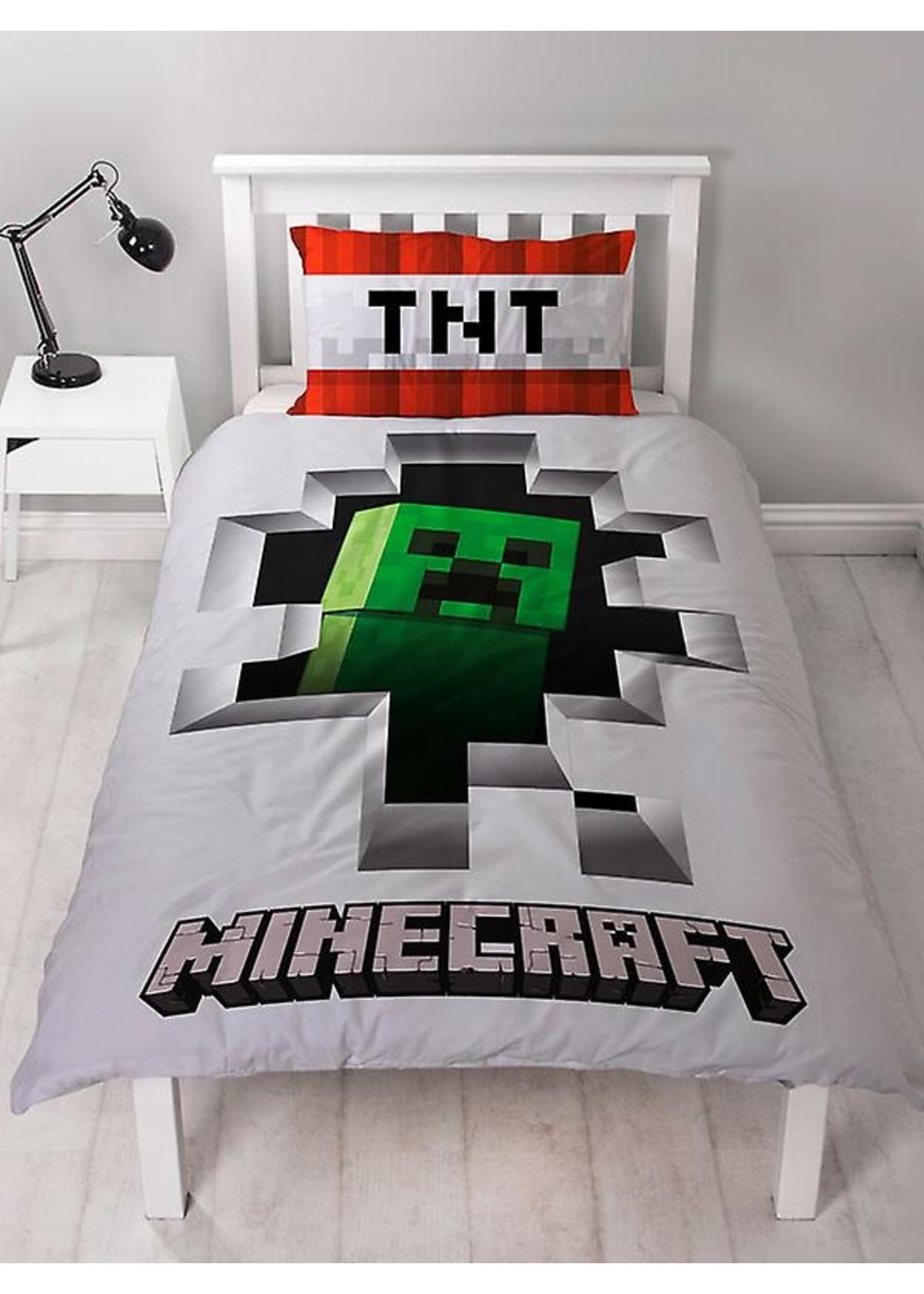 Minecraft Minecraft Dekbedovertrek Dynamite Katoen